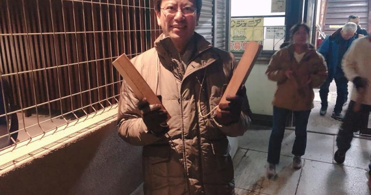 恒例の門司区・錦町校区の歳末夜警