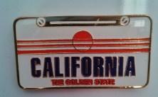 Ímã da Califórnia (EUA), presente da amiga Cynthia :) Foto: CMC, 9.5.2015
