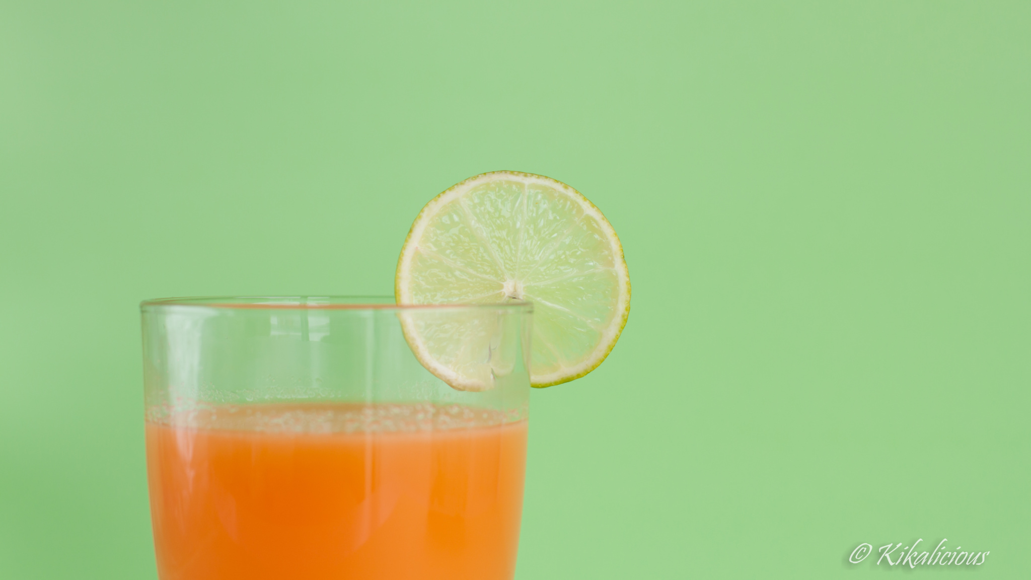 Carrot Lime & Apple Juice