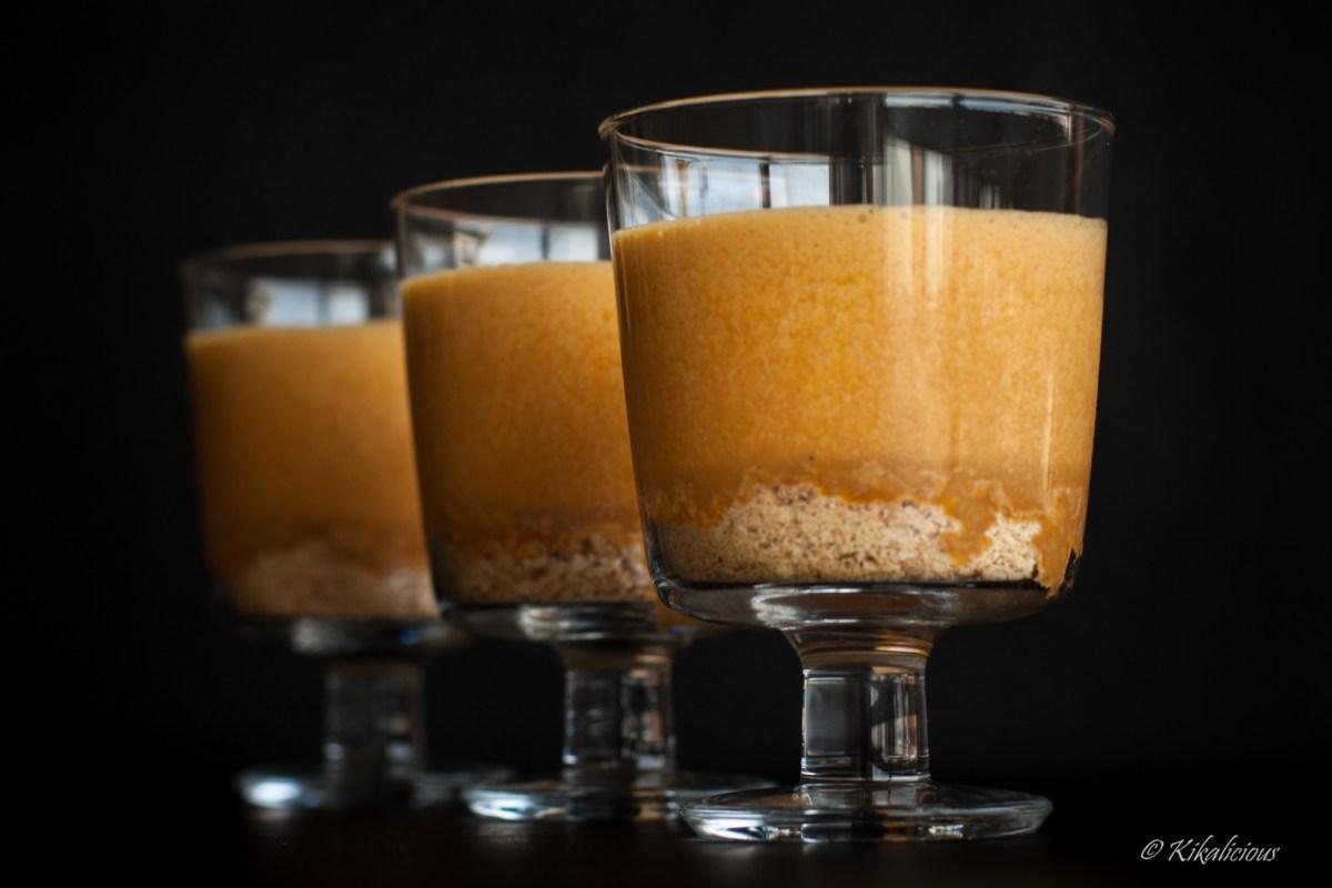 Dulce de leche mousse | Baba de Camelo