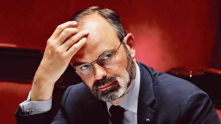 French Prime Minister Edouard Philippe attends the questions to the government session at the National Assembly in Paris as France softens its strict lockdown rules during the outbreak of the coronavirus disease (COVID-19) in France, May 12, 2020. REUTERS/Gonzalo Fuentes/Pool