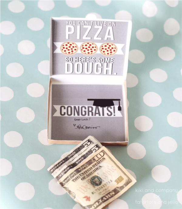 Graduation Money Card.  So great!
