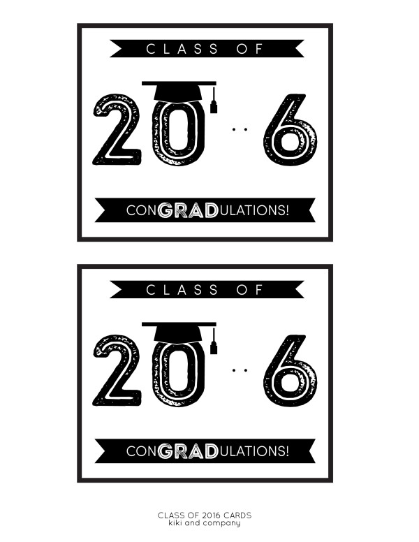 Class of 2016 Graduation Card