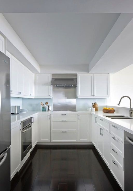 The White Shaker Style Kitchen will never be out