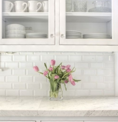 The White Shaker Style Kitchen Will Never Be Out Kikiinteriors Com