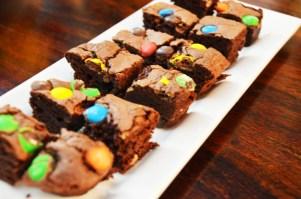 m&m brownies {Ooh La La}