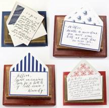 Mr Boddingtons Handwritten Notes