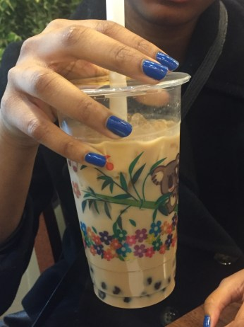 Milk bubble tea