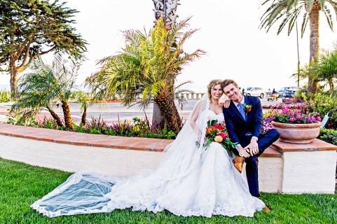 Santa Barbara Wedding Bride and Groom