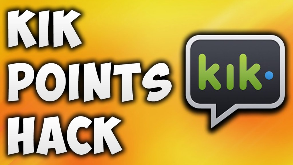 kik points hack