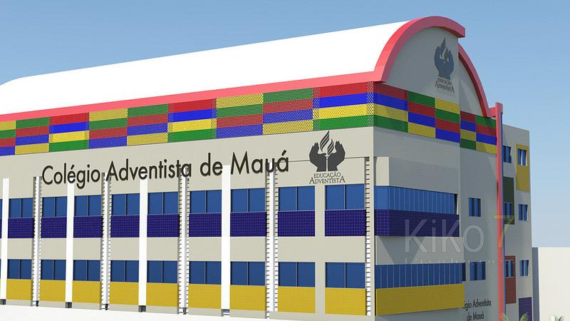 Passeio Virtual 3D no Colégio Adventista de Mauá