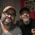 Junto a Rene Gonzalez