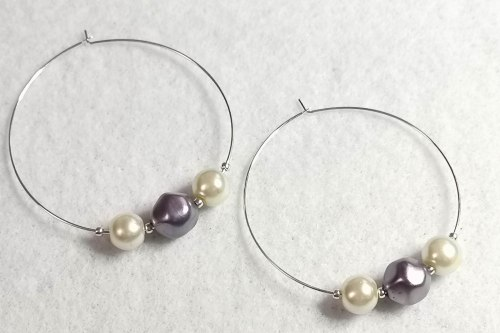 purple-pearl-hoop-earrings