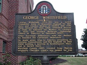 Whitefield Marker in Georgia