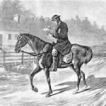 Circuit rider on Indiana border