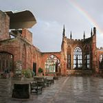 Hallowed Ground - ruins of Coventry Cathedral bombed in November 1940