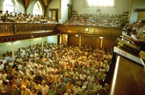 Lansdowne Congregation - 1982 - downstairs and back gallery