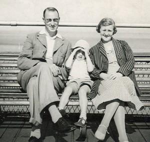 1939 Morecambe - HK with Jim and Ada Kilbride