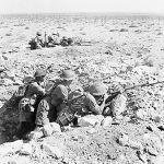 Australian troops in the desert