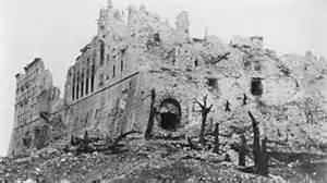 Monte Cassino monastery ruins