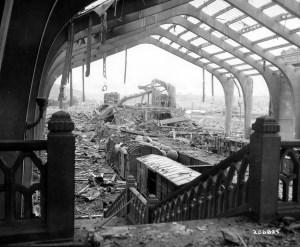 Destruction at Cherbourg
