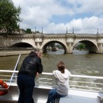 2013 06-27 Paris 6 - Pont Neuf from Batobus - left bank