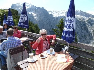 Coffee and gateaux at the Eagle's Nest - 2013