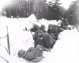 Christmas 1944 - Battle of the Bulge