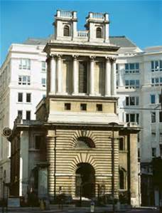 St. Mary Woolnoth Church, London, UK