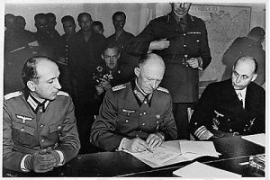 Surrender in Reims, May 7, 1945