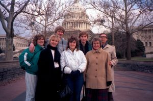 Christmas 1986 - First family visit to the USA