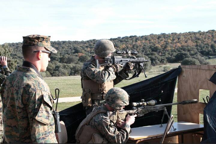 Ejercicios con la Bripac Sniper 2