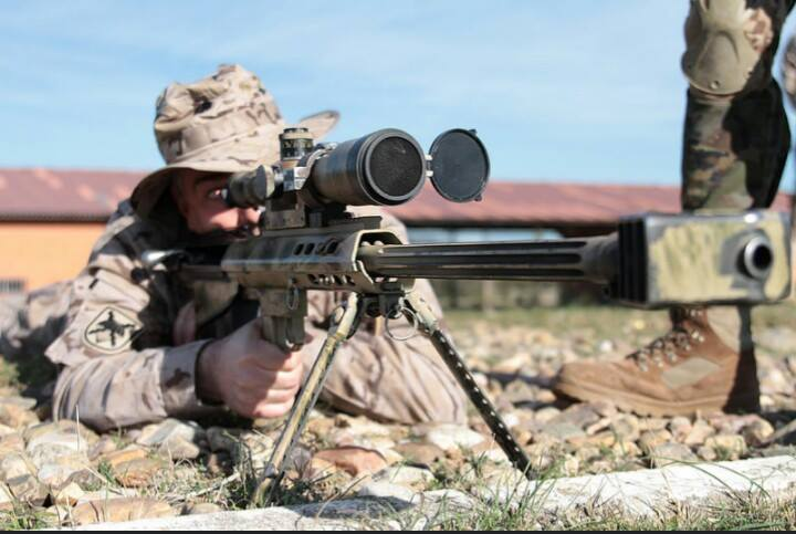Ejercicios con la Bripac Sniper 3