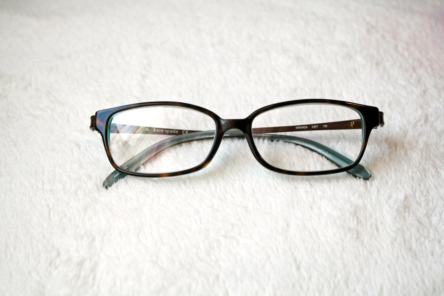 My reading glasses were gifted to me this year. They are Kate Spade and are the best readers I have ever worn!