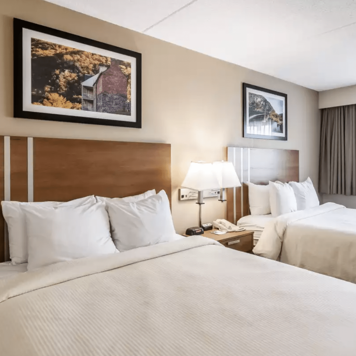 Double occupancy rooms for quilt retreat