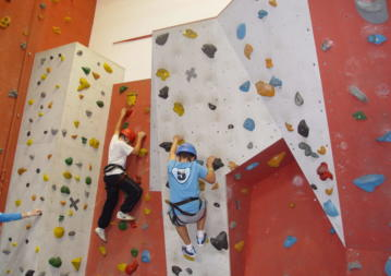 school tours indoor climbing