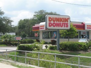 Recent Dunkin' Donut Transactions
