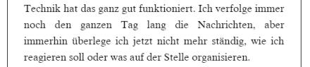 An Stellen wie dieser merkt man, dass es bei der Übersetzung offensichtlich Probleme gab.