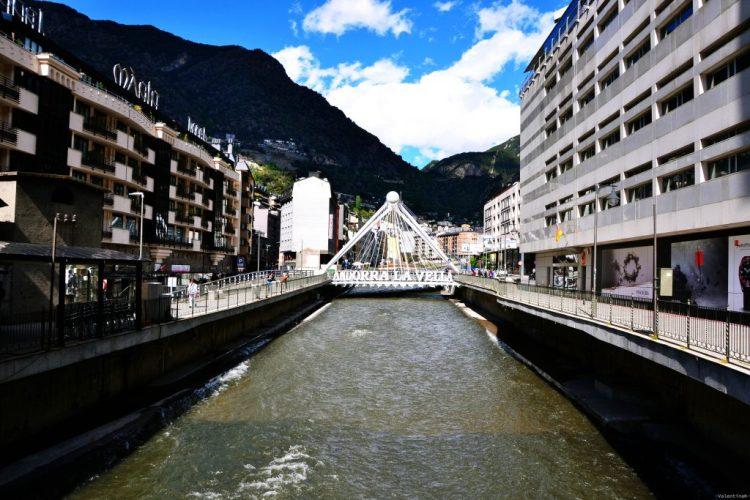 pont de paris ad Andorra la Vella