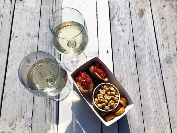 sabato d'estate a marina di ravenna: aperitivo