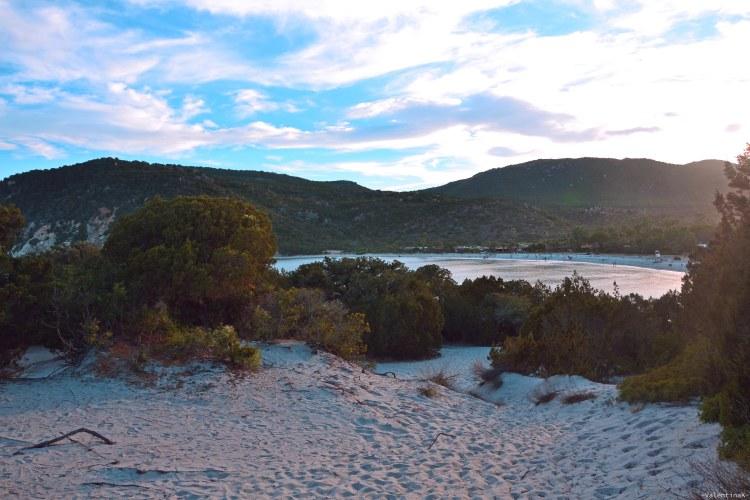 sardegna del sud est spiagge: le dune di cala pira