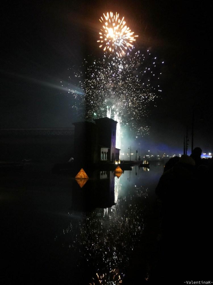 cosa fai a capodanno: spettacolo pirotecnico sul porto canale di cervia