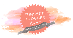 logo di sunshine blogger award 2018