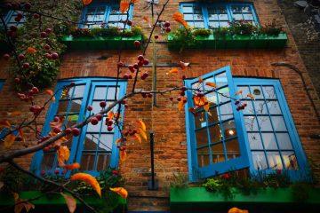 il lato magico di londra nelle finestre colorate del neal's yard