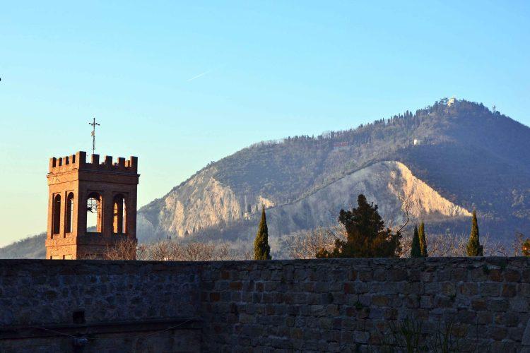 veduta dal cortile veneziano del castello di monselice