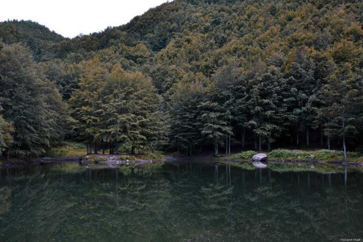 gita alle cascate del dardagna: il laghetto del cavone