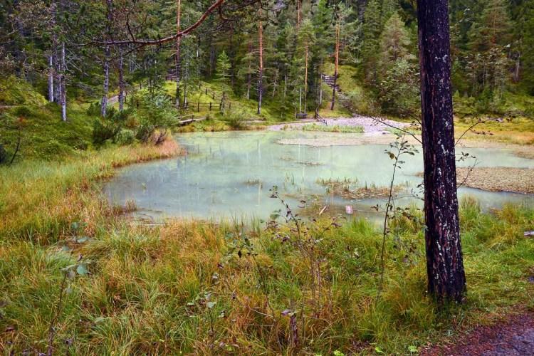 Cosa fare in Val Badia quando piove: il tru di lec