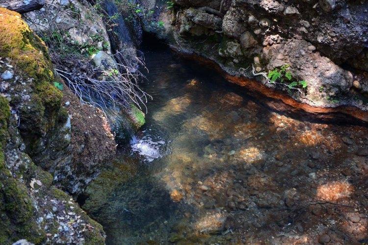 valle delle farfalle: piccolo laghetto fresco
