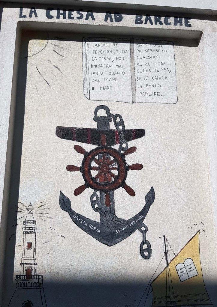 murales la chesa ad barche