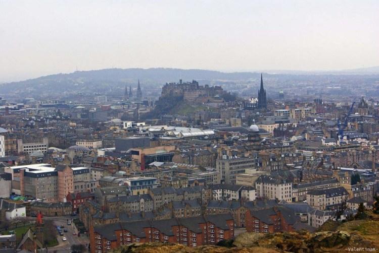 edimburgo città: zoom sulla capitale della scozia